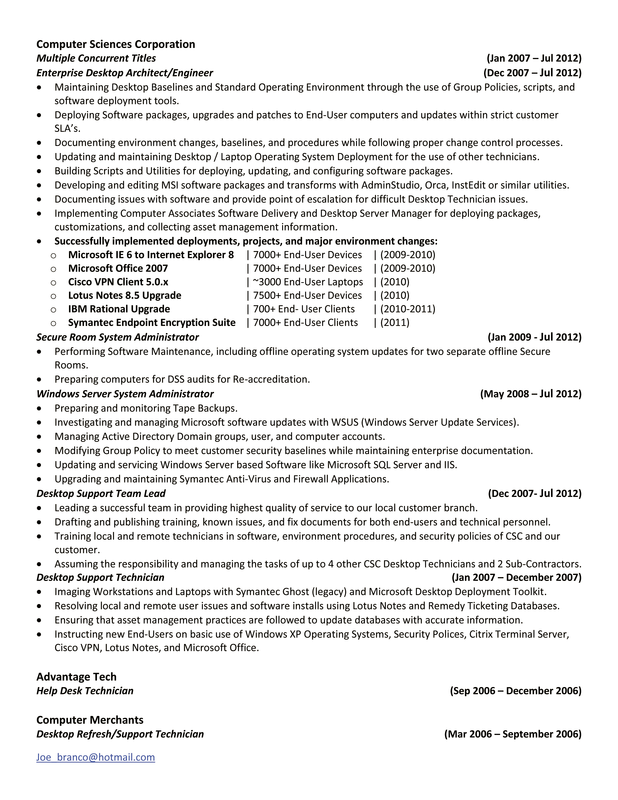 picture additional information on a resume